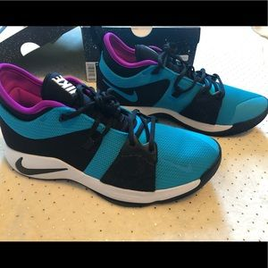 🆕 Nike Men's PG 2 Basketball Shoes -Size 10 Tidal